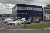 Westover Group's Poole Peugeot facility