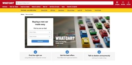 The What Car? new car buying platform