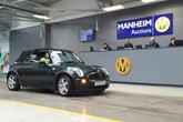 Manheim auction, April