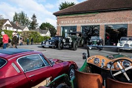 William Medcalf Vintage Bentley Drive Out