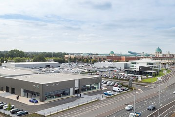 Williams Group's BMW/Mini and Jaguar Land Rover (JLR) dealerships at TraffordCity