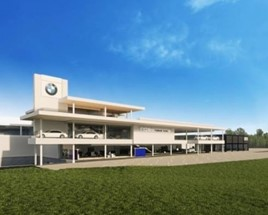 Refused: Halliwell Jones' proposed BMW and Mini dealership near Wilmslow