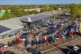 Wilsons' multi-brand franchised car retail operation in Epsom, Surrey