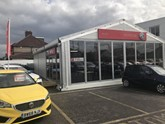 ​WLMG Group's new MG Motor UK showroom at Eastcote, Ruislip
