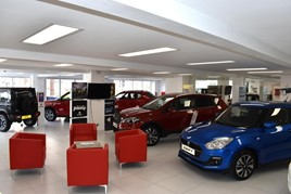 Interior image of Worleys Garage Suzuki dealership in High Wycombe