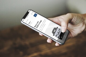 Volvo XC40 Recharge sale facilitated vi an online app