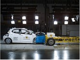 Toyota Yaris in Euro NCAP crash testing