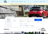 YesAuto homepage