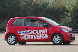 Children as young as 10 can train with Young Driver