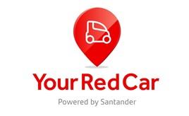 Santander Consumer Finance (SCF) Your Red Car online marketing platform logo