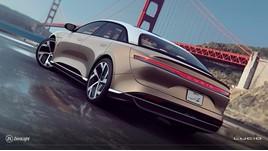 Lucid Motors' Lucid Air electric vehicle (EV)