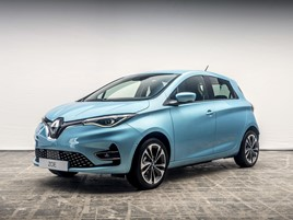 The third generation Renault Zoe