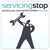 Servicing Stop logo