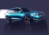 Skoda VisionS SUV show car