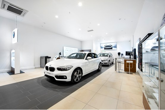 stephen james bmw opens german brand s first uk store at. Black Bedroom Furniture Sets. Home Design Ideas