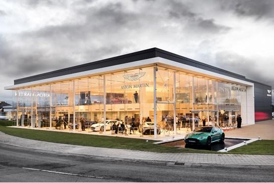 Stoneacre Opens Aston Martin Showroom In Newcastle Car Dealer News - Aston martin car dealers