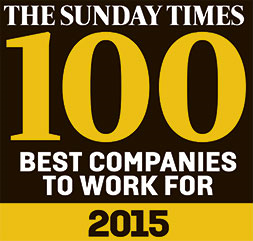 Sunday Times Best Companies To Work For 2015
