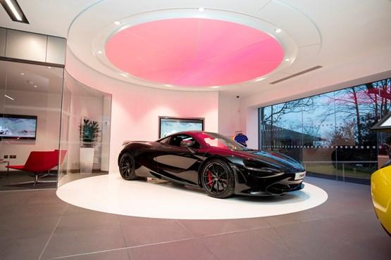sytner opens rolls-royce and mclaren automotive wilmslow showroom