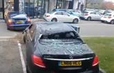 L&L Automotive - Tesla crash at Smart of Hertford 2016