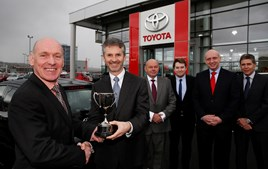 Retailer of the Year: Hodgson Toyota of Gateshead
