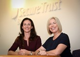Ciara Raison and Estelle McConnell Secure Trust Bank Motor Finance 2018
