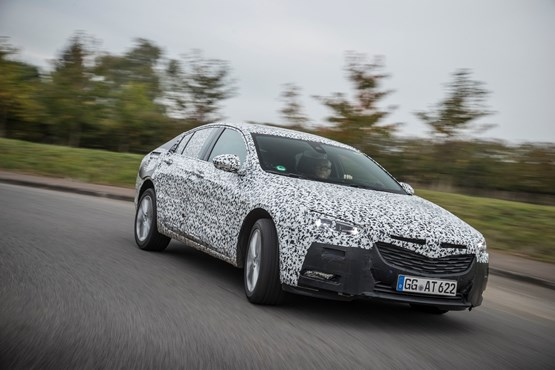 Vauxhall Insignia Grand Sport 2017 under test