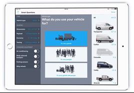 VWCV iPad sales tool 2016