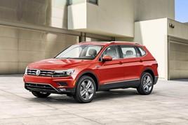 Volkswagen's Tiguan is Europe's top-selling SUV