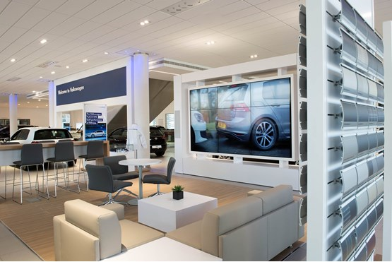 Volkswagen Sends Clear Message With New Flagship Uk Showroom Car Dealer News