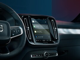 Volvo and Polestar share a Google-connected connected car infotainment system