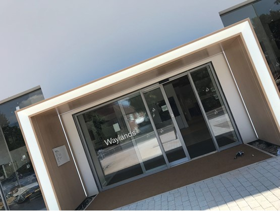 Waylands Automotive's Oxford Volvo Car UK showroom